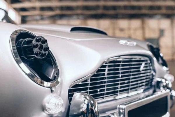 Aston Martin predstavlja DB5 No Time To Die Junior ediciju