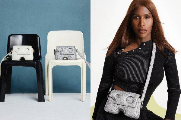 Kendis Svanepoel predstavlja torbu Burrow u Off-White reklamnoj kampanji