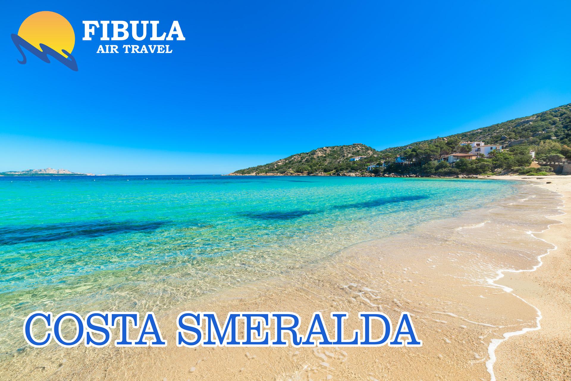 Smaragdna obala Sardinija leto 2019 turisticka agencija Fibula Air Travel